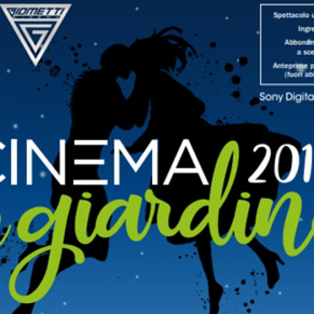 Riccione Cinema in Giardino Agosto 2018